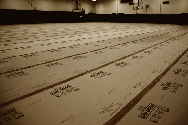 New Product Ramboard Protective Floor Covering The